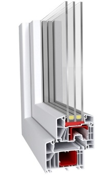 Пластикові вікна Aluplast IDEAL 7000 в Києві