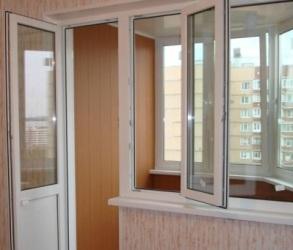 Металлопластиковый балкон в Киеве