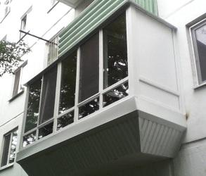 Балкон остеклить в Киеве