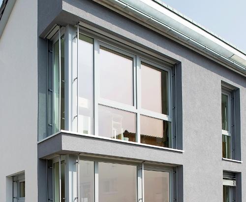 Євро вікна пластикові в приватному будинку