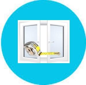 Замір і розрахунок металопластикових вікон