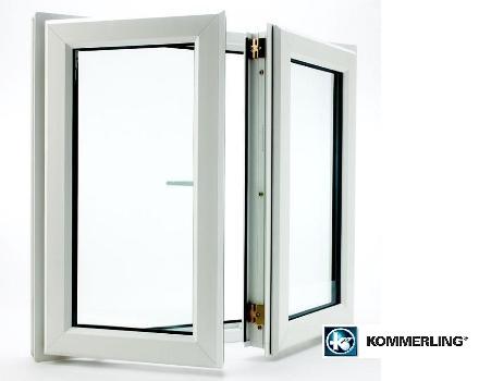 Вікна з профілю Kommerling