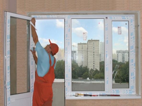 Установка металопластикових вікон в Києві