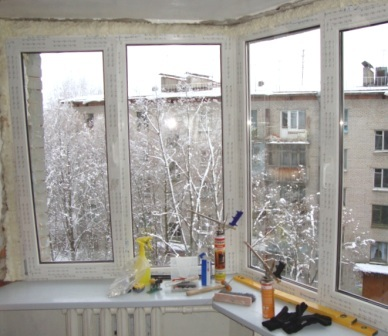 Монтаж вікон ПВХ в Києві