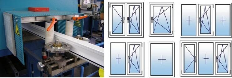 Пластиковые окна разных конфигураций и видов открывания