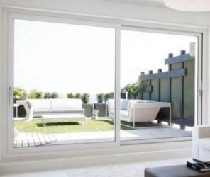 Металопластикові розсувні вікна в приватному будинку