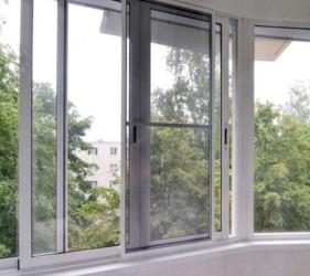 Розсувні вікна на балкон у Києві