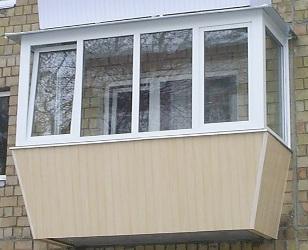 Балкон с выносом, Киев, Соломенский район