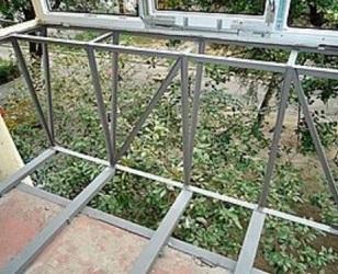 Вынос балкона по полу и подоконнику (Киев) цена